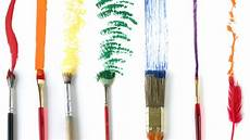 How To Use Paint Brushes In Different Ways Brush Strokes
