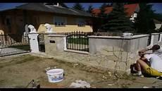 Gartenmauer Mit Solnhofer Dekorieren