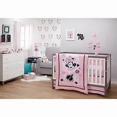 minnie maus kinderzimmer disney minnie mouse hello gorgeous 3 crib bedding