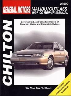 free online car repair manuals download 2000 oldsmobile intrigue user handbook chevy oldsmobile cutlass repair manual 1997 2000 chilton