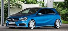 mercedes a klasse turbostarkes tuning neues rad