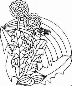 Gratis Malvorlagen Regenbogen Blumen Regenbogen Ausmalbild Malvorlage Blumen