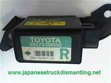 airbag deployment 1995 toyota t100 xtra spare parts catalogs 89173 0w050 toyota t100 right air bag sensor 1993 1994 1995 1996 1997 1998