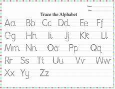 alphabet tracing dots alphabetworksheetsfree com
