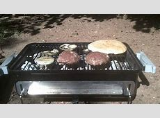 Hamburgers on my Weber Go Anywhere charcoal grill   YouTube