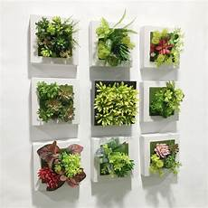 20 20cm Artificial Succulent Plants Plastic Ferns Green