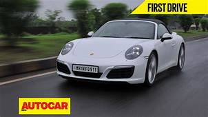 2016 Porsche 911 Carerra S India Video Review  Autocar