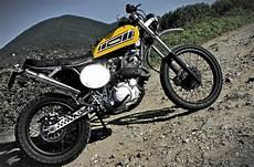 Yamaha Enduro Cafe Racer