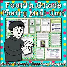 analyzing poetry worksheet 4th grade 25451 poetry unit poetry and poetry lessons on