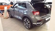 vw t roc sport 2018 vw t roc sport exterior interior 4motion 190 hp playlist