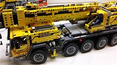 lego 42009 technic mobile crane mkii build review series