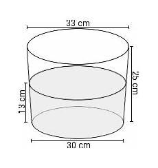 volumen eimer inhalt in liter je gr 246 223 e