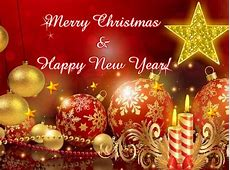 Ecard Merry Christmas And Happy New Year-Merry Christmas And A Happy New Year