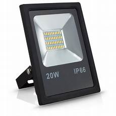 led floodlight 20w ip66 super bright waterproof outdoor