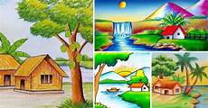 25 Gambar Rumah Dan Pemandangan Alam Yang Indah Dan Mudah