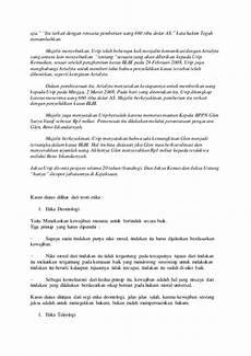 contoh tindakan yang melanggar hukum perdata contoh daftar isi