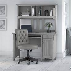 bush home office furniture bush furniture salinas 48w computer desk with hutch and