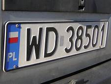 EU Emblem Outlawed On Polish Number Plates