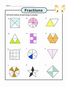 printables basic fractions worksheet messygracebook thousands of printable activities