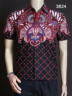 jual baju batik terbaru anak muda baju batik pria lengan pendek di lapak baju