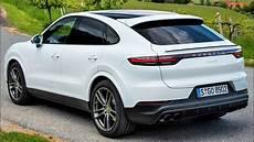 2020 white porsche cayenne coupe luxury performance suv