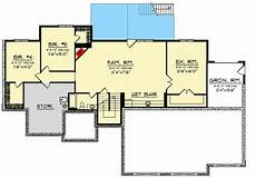 house plans with walkout basements 5 bed craftsman house plan with a finished walkout