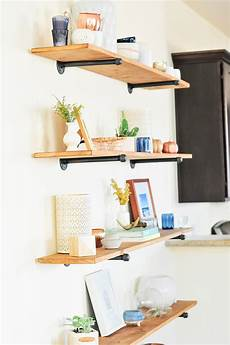 Pinnwand Selber Bauen - the easiest diy industrial shelving tutorial