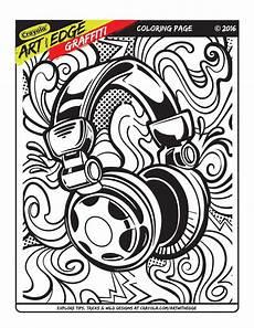 Graffiti Malvorlagen With Edge Graffiti Coloring Page Crayola
