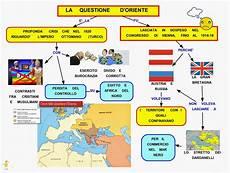 l impero turco ottomano mappa concettuale questione d oriente scuolissima