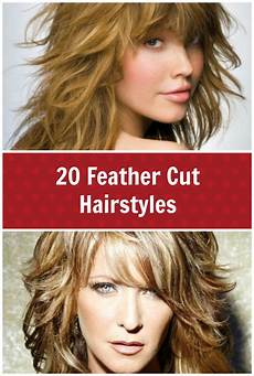 Layered And Feathered Hairstyles