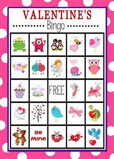free printable s day bingo cards at and printable