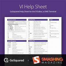 vi sheet linux terminal sheet pdf smashing magazine