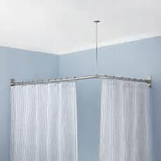 Corner Shower Curtain Rods
