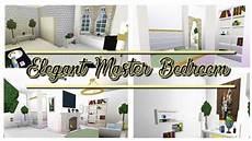 Aesthetic Master Bedroom Ideas Bloxburg by Master Bedroom Bloxburg Speedbuild