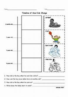 timeline worksheets 3078 timeline of how change esl worksheet by statens
