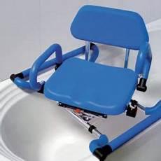 sedile girevole per vasca da bagno sedia per vasca da bagno per disabili sollevati