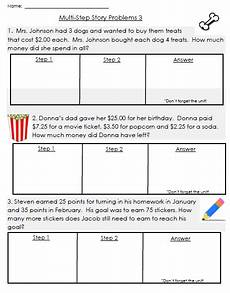 multi step word problems worksheets 3rd grade 11421 step story problems math word problems word problems 3rd grade word problems