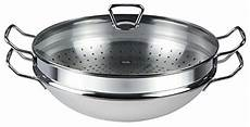 Wok Für Ceranfeld - fissler wok nanjing edelstahl pfanne wokpfanne hoch