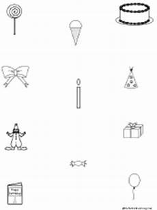 birthday object worksheet 20250 birthday activities at enchantedlearning