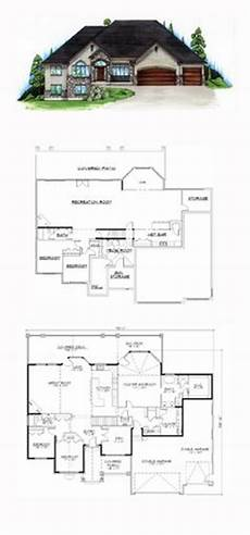 hillside house plans with walkout basement 35 best hillside home plans images in 2019 house plans