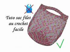 tuto pochette crochet facile tuto sac shopping filet au crochet facile crochet mesh bag