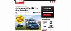Auto Zeitung Gewinnspiel Reisemobil Wahl 2019