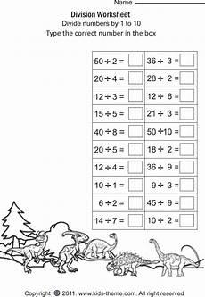 division printable worksheets for 3rd grade 6454 divide numbers by 1 to 10 atividades de matem 225 tica atividades de multiplica 231 227 o murais da escola