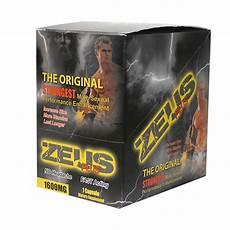 zeus male sex enhancer supplement pill box of 25 aw