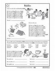 riddles worksheets language 10875 3rd grade 4th grade 5th grade reading writing worksheets putting sentences in order