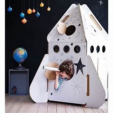 kidsonroof spielzeug aus karton rakete f 252 r kinder