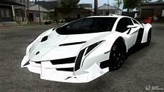White Lamborghini Veneno