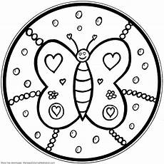 mandala coloring pages for preschoolers 17914 printable children coloring page butterfly mandala flickr