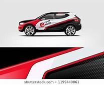 Company Branding Car Decal Wrap Design Vector Graphic