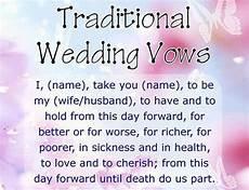 Wedding Vows Exles